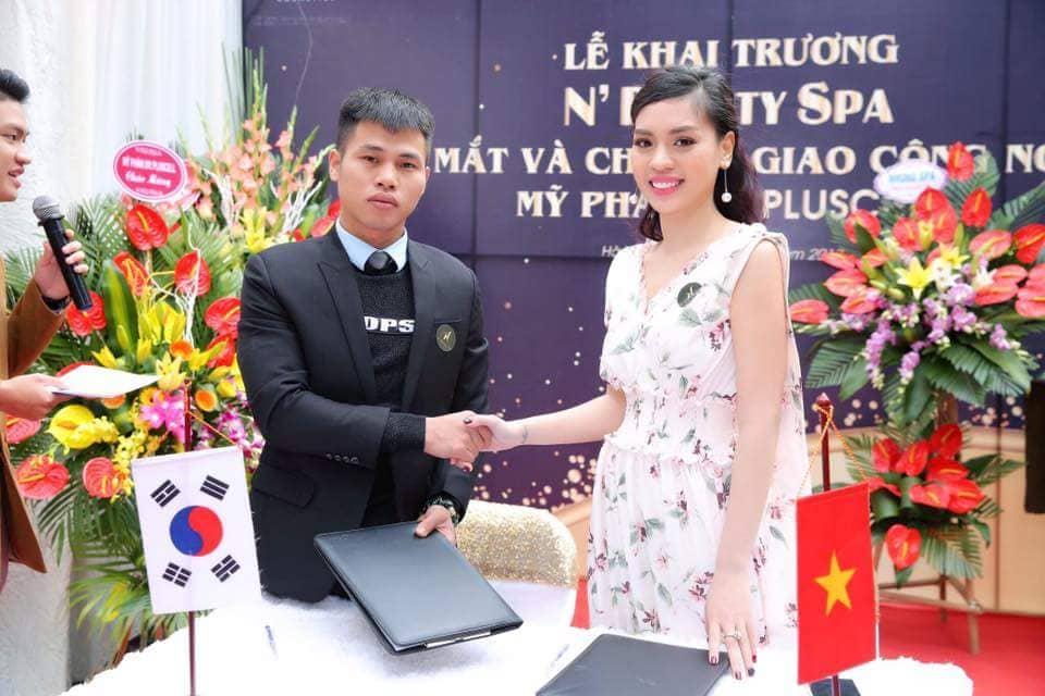 Lễ chuyển giao công nghệ tại N'Beauty Spa - Hà Đông, Hà Nội