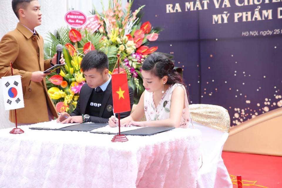 Lễ ký kết và chuyển giao công nghệ tại N'Beauty Spa - Hà Đông, Hà Nội